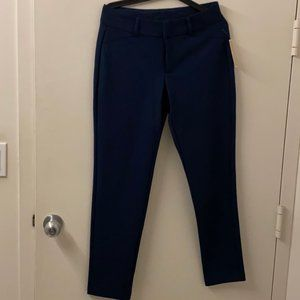 NWT Micheal Kors MK Navy Blue Suit Trousers